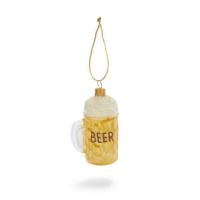 Beer Mug Glass Ornament