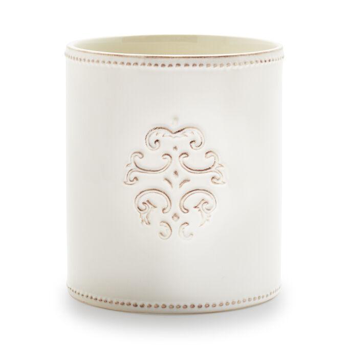 Pearl Stoneware Utensil Crock