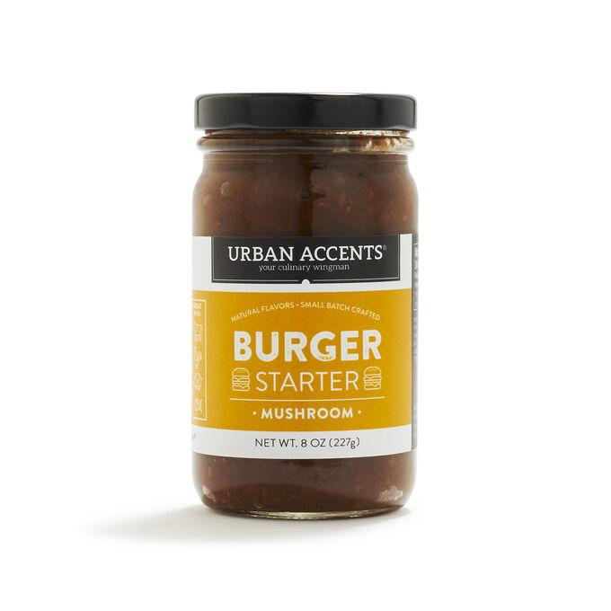 Urban Accents Mushroom Burger Starter