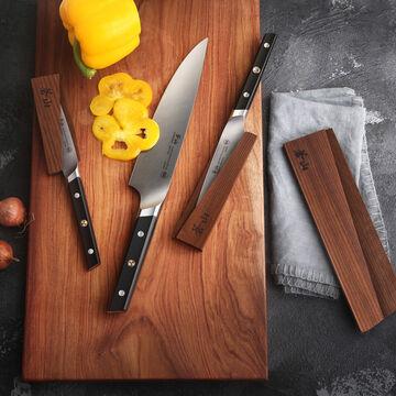 "Cangshan TC Series Swedish Sandvik Steel Forged Starter Knives, Set of 6, 3.5"", 5"" & 8"""