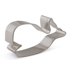 Cute Whale Cookie Cutter, 3.9""
