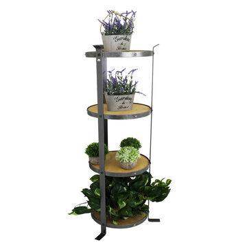 Enclume Handcrafted 4-Tier Round Designer Stands (Unassembled)