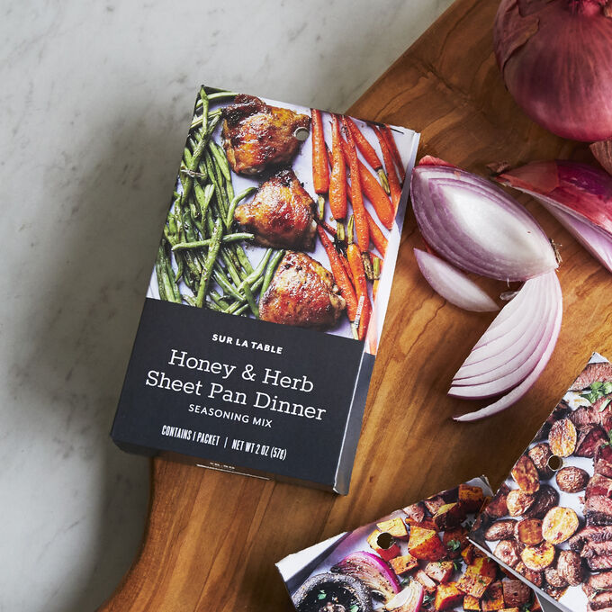 Sur La Table Honey and Herb Sheet Pan Dinner Sheet Pan Seasoning Mix, 2 oz.