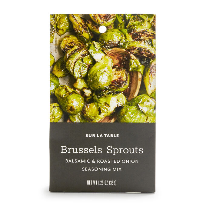 Balsamic & Roasted Onion Brussel Sprout Seasoning