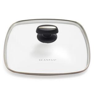 "Scanpan Evolution Square Glass Lid, 11"""