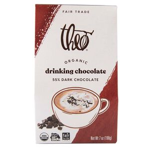 Theo Drinking Chocolate, 55% Dark Chocolate