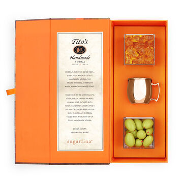 Sugarfina Tito's Collection 3-Piece Candy Bento Box