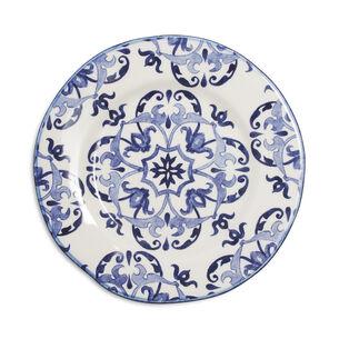 Blue Tile Salad Plate