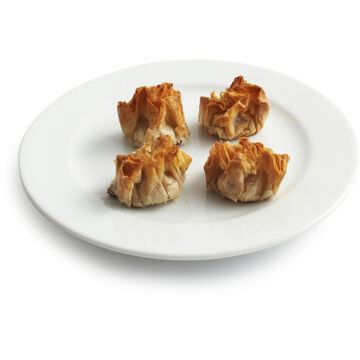 Caramel Apple and Goat Cheese in Phyllo, 50-Piece Tray