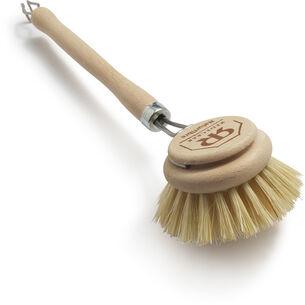 "Bürstenhaus Redecker Large Dish Brush with Hard Bristles, 10"""