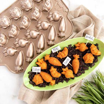 Nordic Ware Garden Patch Cakelet Pan