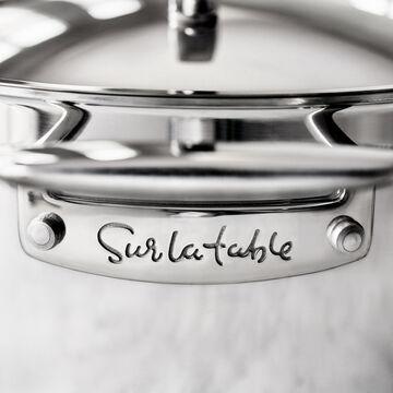 Sur La Table Tri-Ply Stainless Steel Sauté Pan