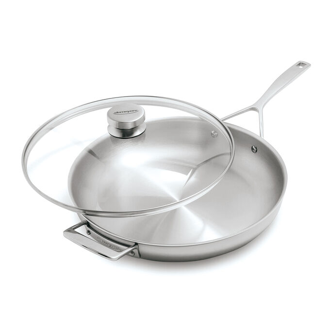 """Demeyere Essential5 Skillet with Lid, 12.5"""""""