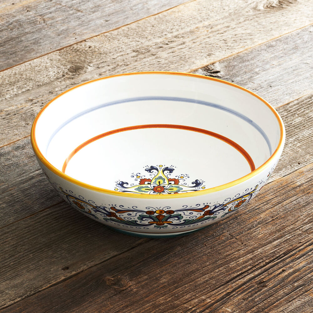 Nova Deruta Pasta Serve Bowl