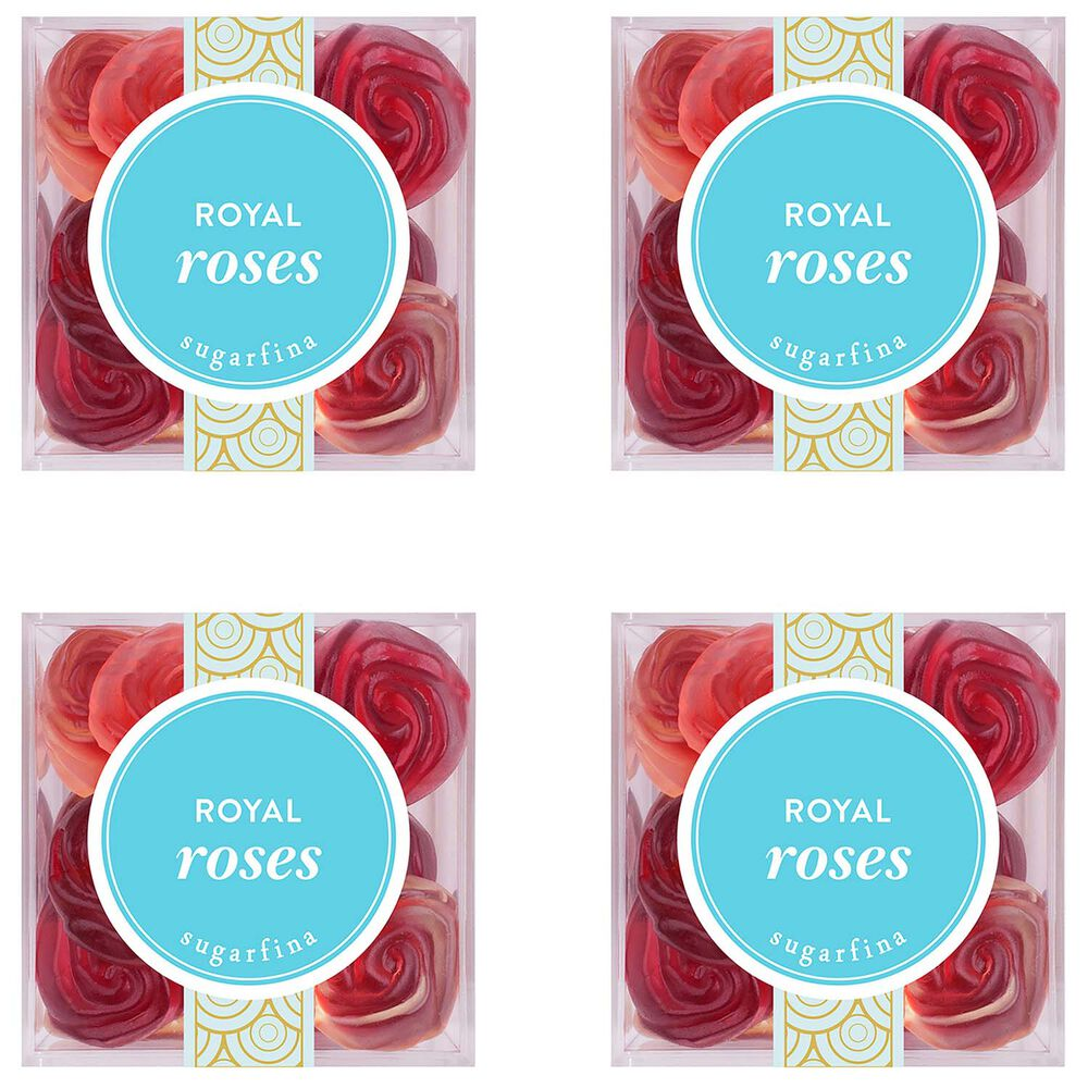 Sugarfina Royal Roses, Small Set of 4