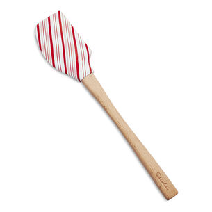 Sur La Table Candy Cane Striped Spatula