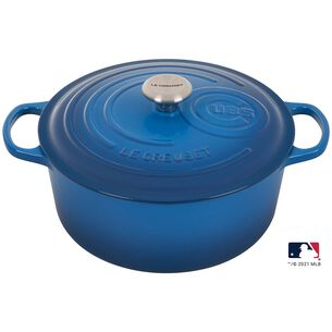 Le Creuset The Limited-Edition MLB™ Signature Series Cubs Dutch Oven, 7.25 qt.