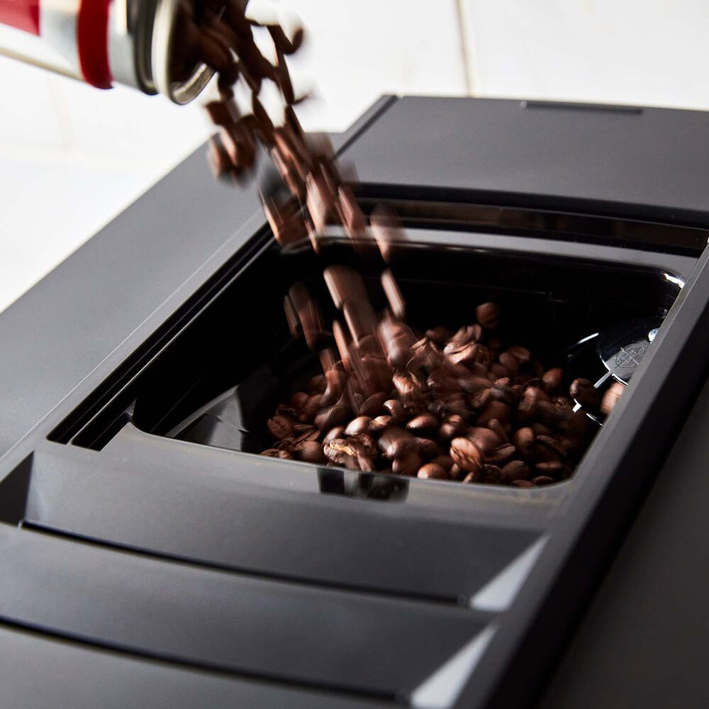 JURA E8 Automatic Coffee Machine, Piano Black