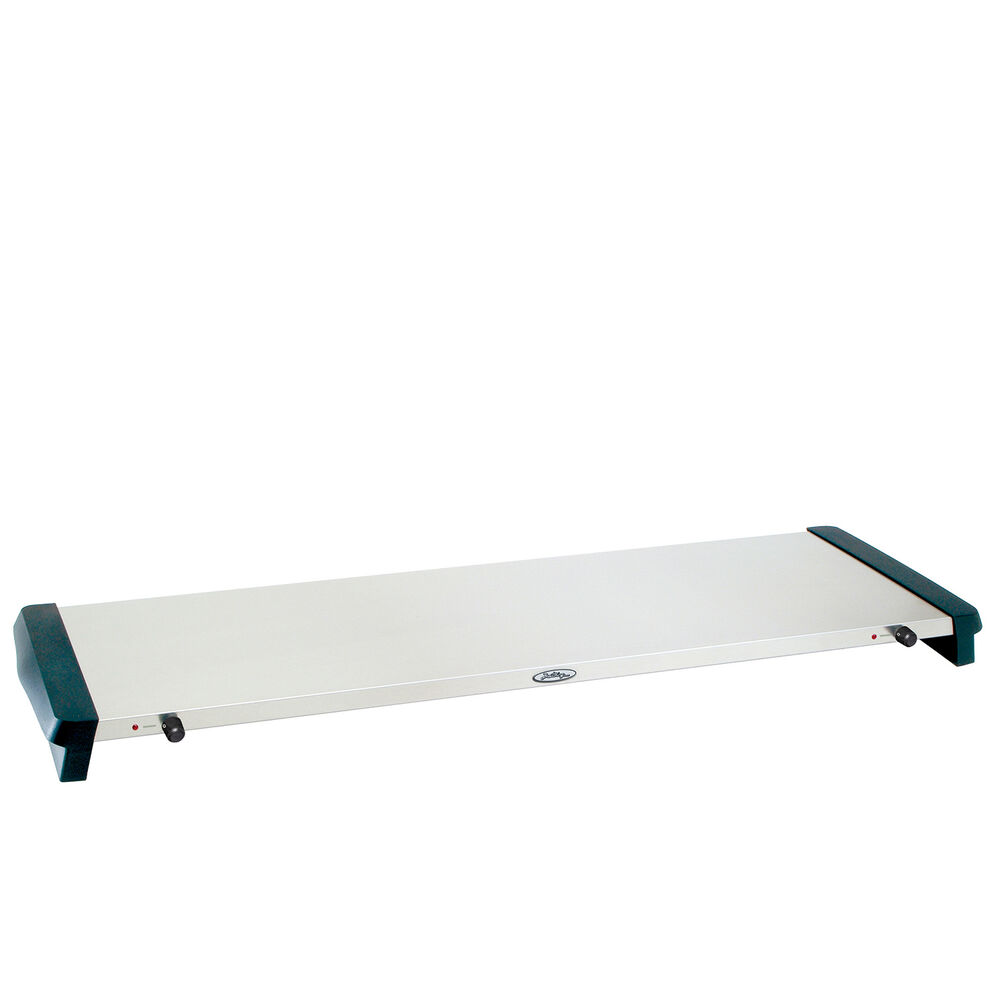 "Stainless Steel Jumbo-Size Warming Tray, 41¼"" x 14"""