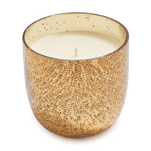 Frosted Gingerbread Mercury Glass Soy Candle, 20 oz.