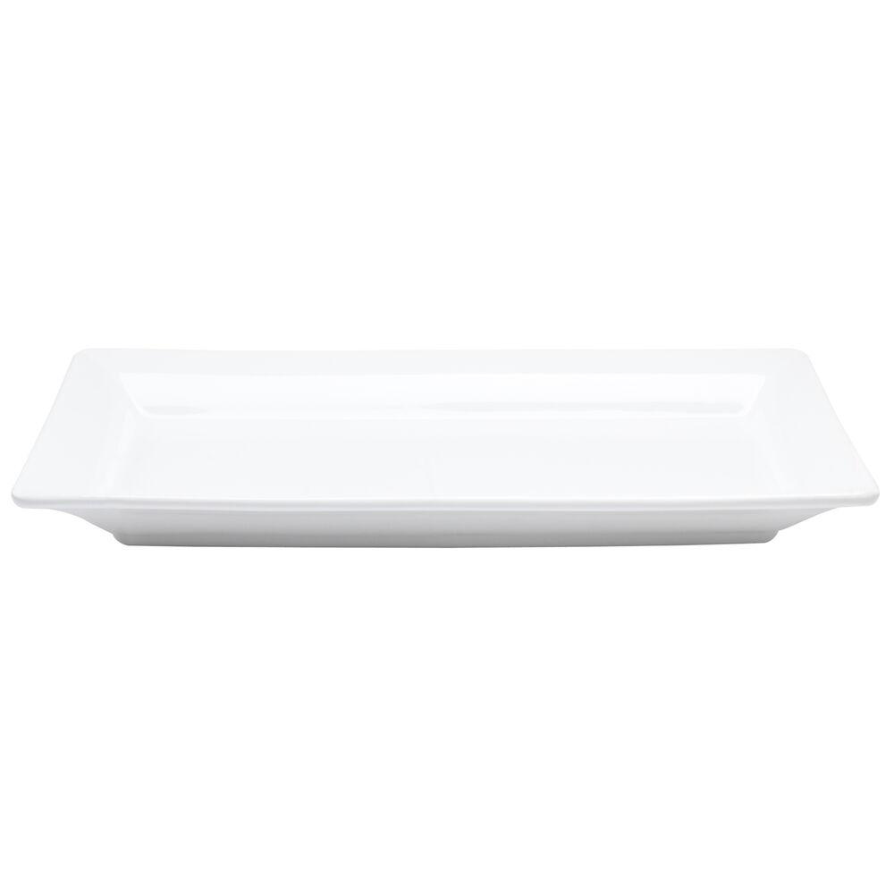 """Italian Whiteware Rectangular Serving Platter, 17.75"""" x 9"""""""