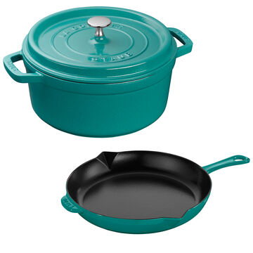 Staub 3-Piece Enameled Cast Iron Cookware Set