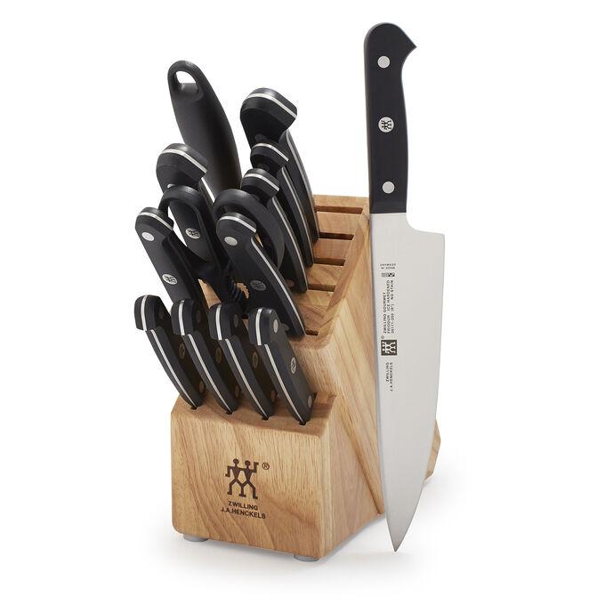 Zwilling J.A. Henckels 14-Piece Gourmet Knife Block
