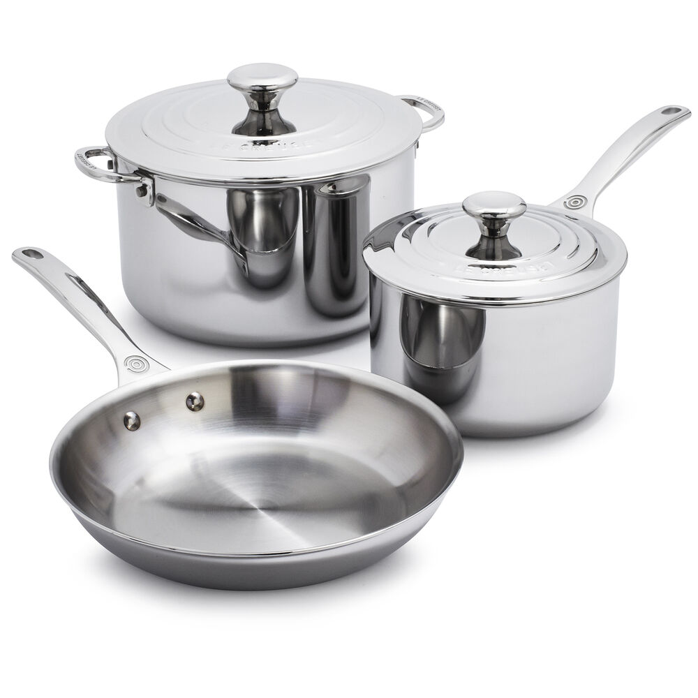 Le Creuset Stainless Steel 5-Piece Set