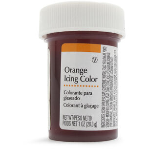 Wilton Orange Icing, 1 oz.