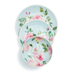 Rose Nuage Melamine Dinnerware, Set of 12
