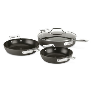 All-Clad Essentials 4-Piece Skillet & Sauté Pan Set