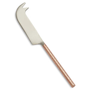 Hammered Copper Soft Cheese Knife