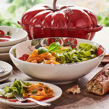 "Farmers Market Tomatoes Serving Bowl, 12.5"""