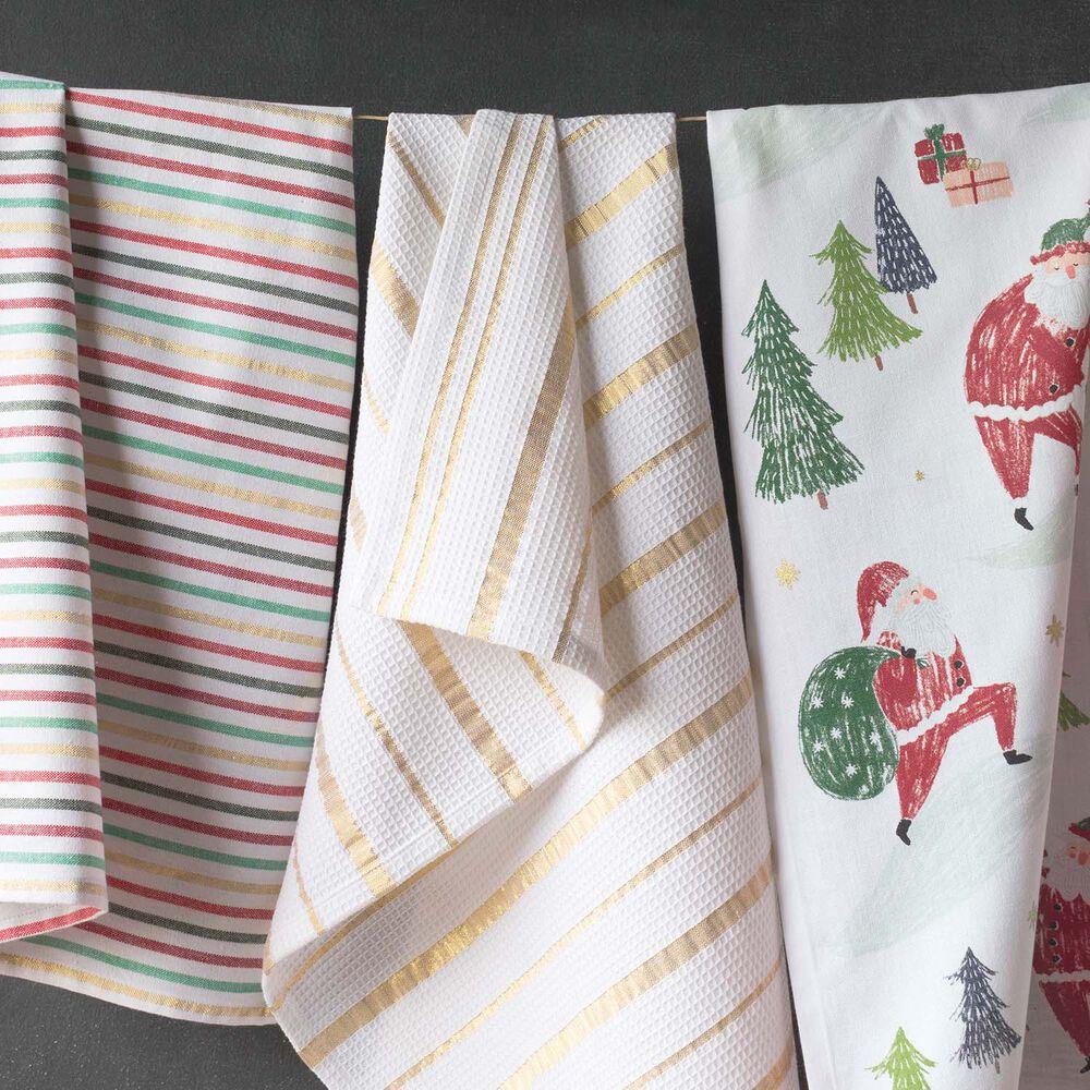 """Must Be Santa Kitchen Towel, 28"""" x 18"""""""