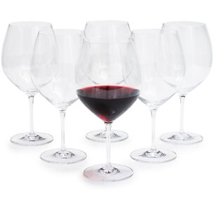Schott Zwiesel Cru Classic Soft-Bodied Red Wine Glasses, Set of 6