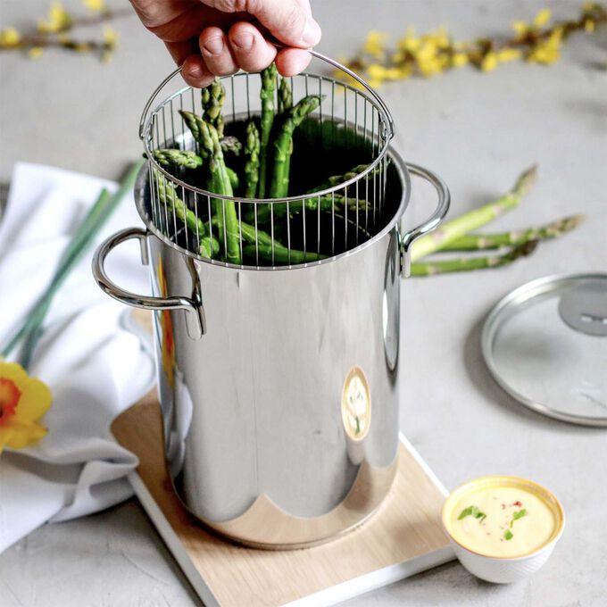 Cristel Asparagus Pot with Lid