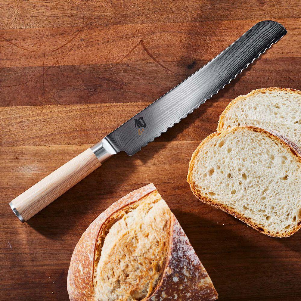 "Shun Classic Blonde Bread Knife, 9"""