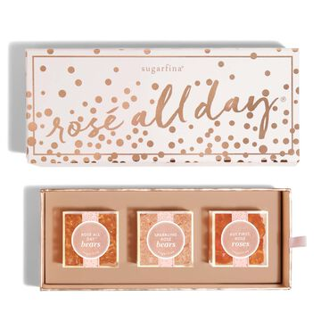 Sugarfina Rosé All Day Candy Bento Box