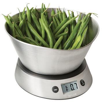 Taylor Measuring Bowl Digital Kitchen Scale