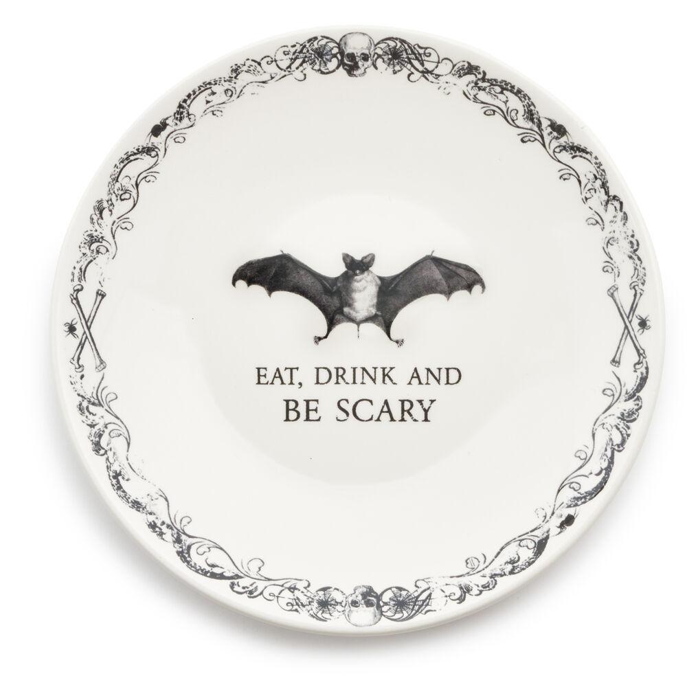 Halloween Salad Plates, Set of 4