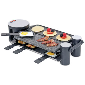 Swissmar 8-Person Swivel Raclette Grill