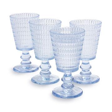 Sur La Table Beaded Glass Goblet