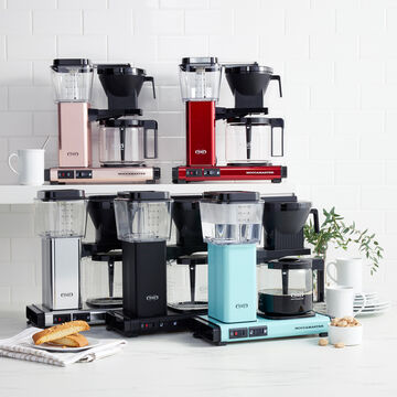 Technivorm Moccamaster KBGV Select Coffee Maker with Glass Carafe