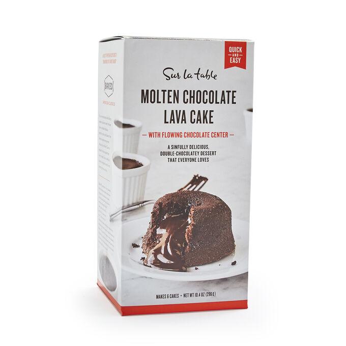 Sur La Table Molten Chocolate Lava Cakes Mix