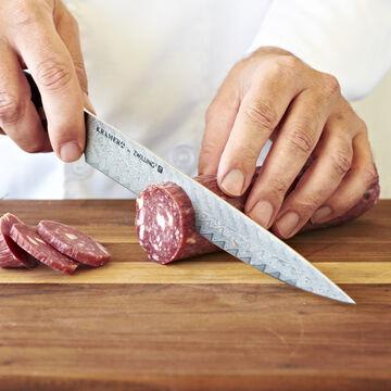 "Bob Kramer 9"" Stainless Damascus Slicing Knife by Zwilling J.A. Henckels"