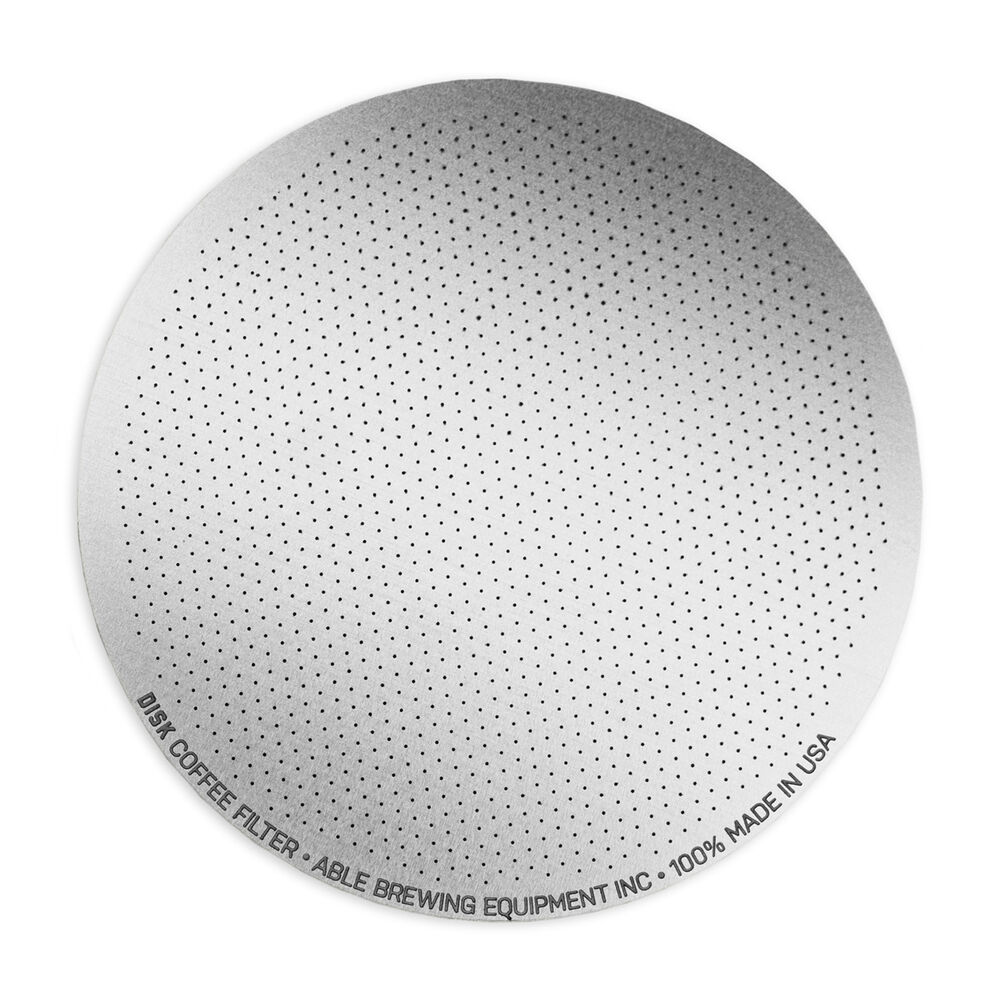 DISK Reusable Stainless Steel Coffee Filter
