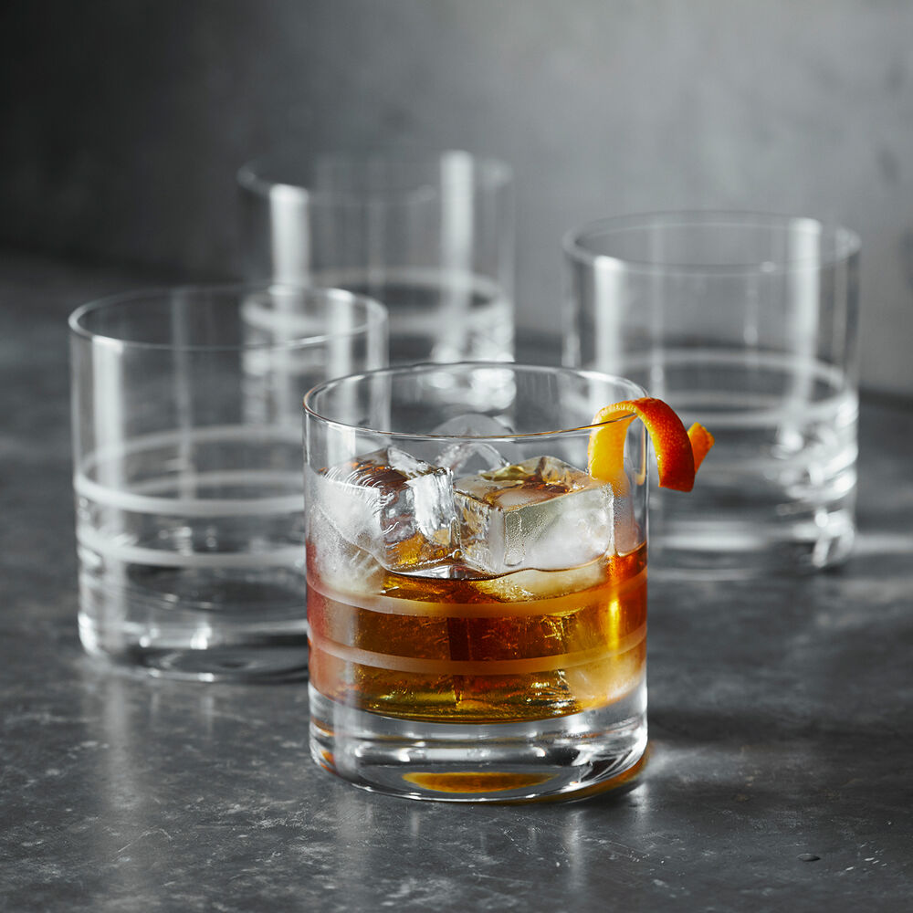 Crafthouse by Fortessa Double Old Fashioned Glasses, Set of 4