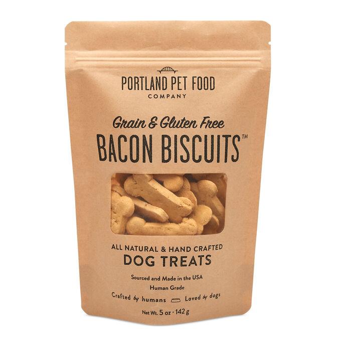Grain- & Gluten- Free Bacon Dog Biscuits