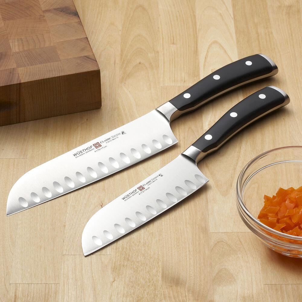 Wüsthof Classic Ikon Hollow-Edge Santoku Knife