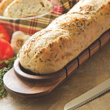 Avignon Acacia Wood French Bread Miter